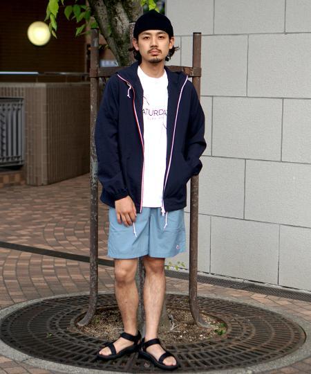 BEAMS MENのDANTON / ナイロン タフタ ショーツを使ったコーディネートを紹介します。|Rakuten Fashion(楽天ファッション/旧楽天ブランドアベニュー)1029657