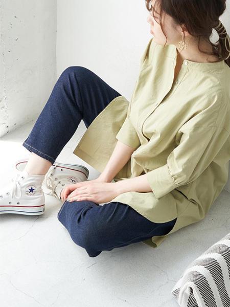 ROPE' PICNICのウッドサークルパーツピアスを使ったコーディネートを紹介します。 Rakuten Fashion(楽天ファッション/旧楽天ブランドアベニュー)1029922