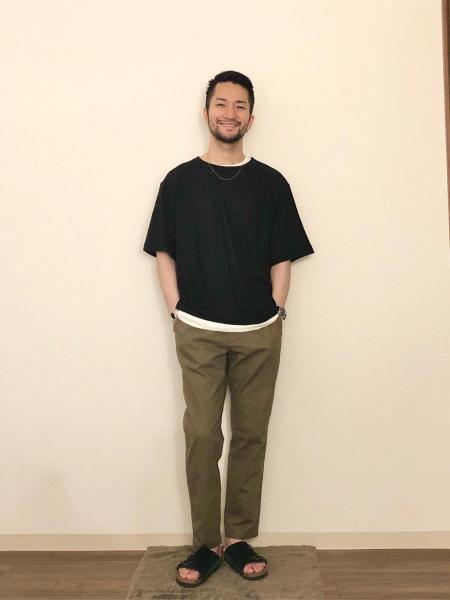 RAGEBLUEの(M)リアルレイヤードカットSSを使ったコーディネートを紹介します。|Rakuten Fashion(楽天ファッション/旧楽天ブランドアベニュー)1030264