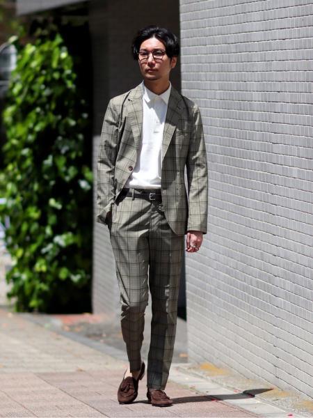 EDIFICEの【GUY ROVER / ギローバー】メランジカノコ オープンカラー ポロシャツを使ったコーディネートを紹介します。|Rakuten Fashion(楽天ファッション/旧楽天ブランドアベニュー)1030370
