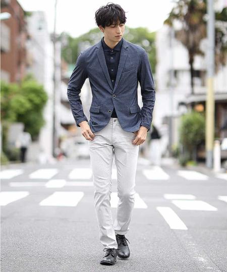 MK MICHEL KLEIN hommeの【洗えるワーキングジャケット】テックイージーメッシュを使ったコーディネートを紹介します。|Rakuten Fashion(楽天ファッション/旧楽天ブランドアベニュー)1030474