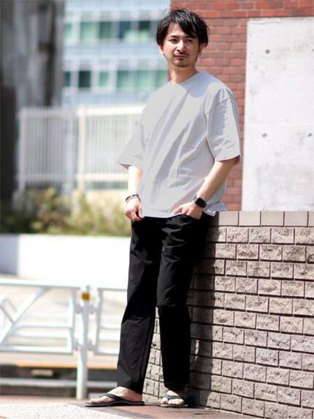 JOURNAL STANDARD relumeの【RAINBOW SANDALS for relume】別注 SINGLE LAYER SANDALSを使ったコーディネートを紹介します。|Rakuten Fashion(楽天ファッション/旧楽天ブランドアベニュー)1031163