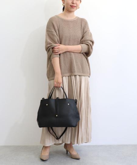 TrysilのT・S・L/2wayトートバッグを使ったコーディネートを紹介します。|Rakuten Fashion(楽天ファッション/旧楽天ブランドアベニュー)1031645