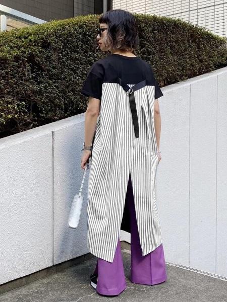PAGEBOYのバックストラップキリカエOPを使ったコーディネートを紹介します。|Rakuten Fashion(楽天ファッション/旧楽天ブランドアベニュー)1031942