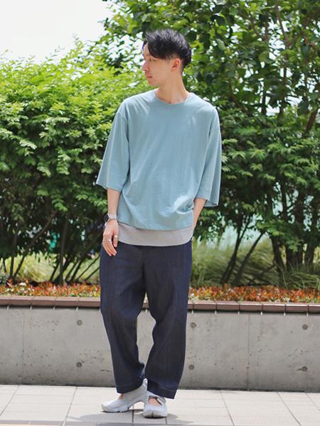 417 EDIFICEのフタバ*FRUITS OF THE LOOM C/N SS TEEを使ったコーディネートを紹介します。|Rakuten Fashion(楽天ファッション/旧楽天ブランドアベニュー)1032060