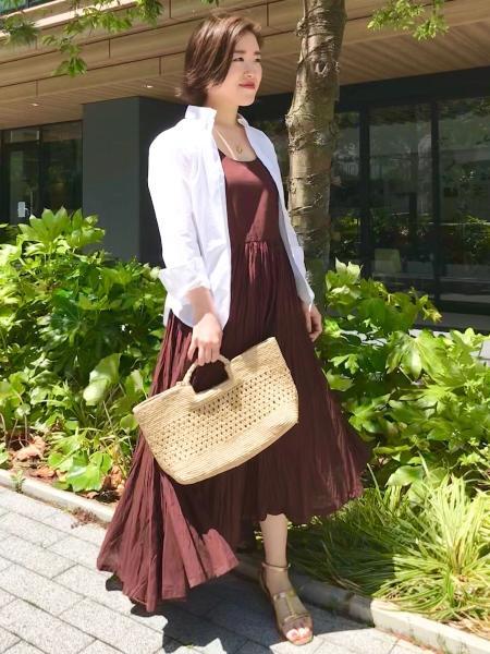 VERMEIL per ienaの【MAISON N.H PARIS/メゾンエヌアッシュパリ】MIA MIEDIUMハンドバッグ◆を使ったコーディネートを紹介します。|Rakuten Fashion(楽天ファッション/旧楽天ブランドアベニュー)1032242