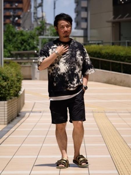 JOURNAL STANDARDの【LA APPAREL / ロサンゼルスアパレル】 6.5OZ GARMENT DYE CREW NECK T-SHIRTSを使ったコーディネートを紹介します。 Rakuten Fashion(楽天ファッション/旧楽天ブランドアベニュー)1032362