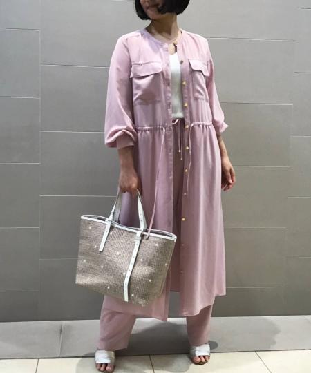 ANAYIのドレープファイユクルーネックワンピースを使ったコーディネートを紹介します。|Rakuten Fashion(楽天ファッション/旧楽天ブランドアベニュー)1032363