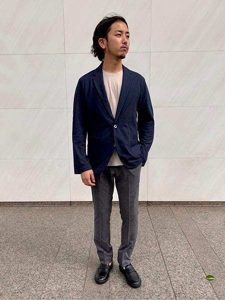 417 EDIFICEの※【GIM / ジム】417 別注 ハイドロ銀チタン カノコ ジャケットを使ったコーディネートを紹介します。|Rakuten Fashion(楽天ファッション/旧楽天ブランドアベニュー)1032534