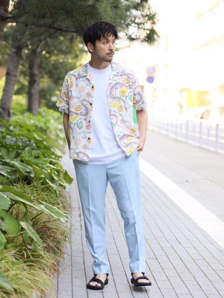 JOURNAL STANDARDのSUNSURF/ MING PRINTを使ったコーディネートを紹介します。|Rakuten Fashion(楽天ファッション/旧楽天ブランドアベニュー)1033356