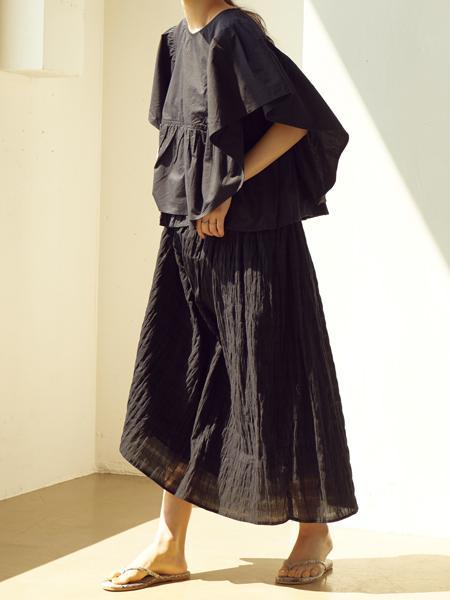 ANTIQULOTHESの(W)インド製/綿100% ギャザーデザインブラウスを使ったコーディネートを紹介します。 Rakuten Fashion(楽天ファッション/旧楽天ブランドアベニュー)1033665