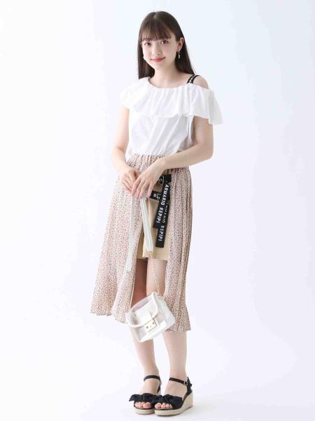 repipi armarioのジュートサンダル71を使ったコーディネートを紹介します。|Rakuten Fashion(楽天ファッション/旧楽天ブランドアベニュー)1035749
