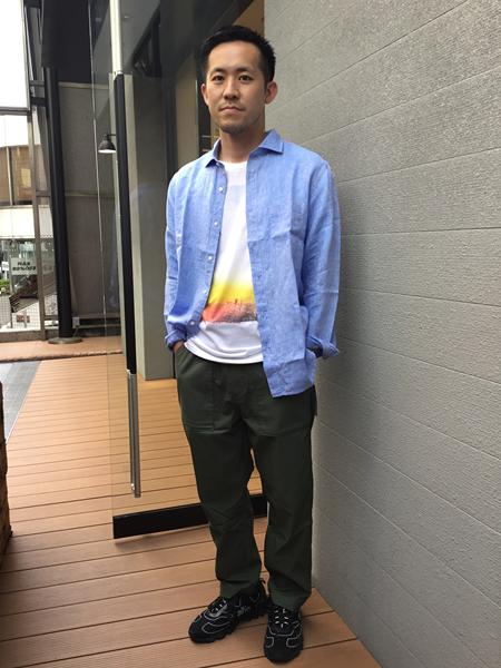 SHIPSのPOSTERLIST:プリントTシャツ20SSを使ったコーディネートを紹介します。|Rakuten Fashion(楽天ファッション/旧楽天ブランドアベニュー)1036257