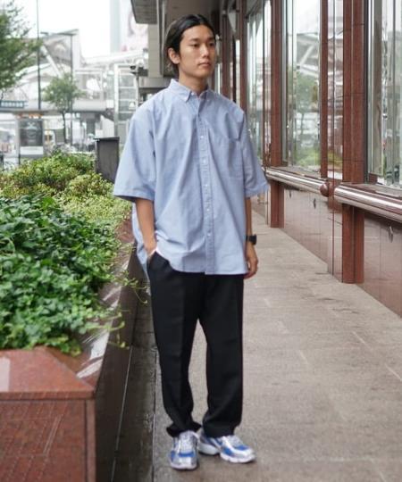 BEAMS MENのBEAMS / クリース イージーパンツを使ったコーディネートを紹介します。|Rakuten Fashion(楽天ファッション/旧楽天ブランドアベニュー)1036352