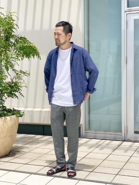 417 EDIFICEのHERISSON/LEATHER SANDAL BACK STRAPを使ったコーディネートを紹介します。|Rakuten Fashion(楽天ファッション/旧楽天ブランドアベニュー)1037084