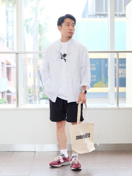 417 EDIFICEの417*JETS PLANE LOGO TEEを使ったコーディネートを紹介します。 Rakuten Fashion(楽天ファッション/旧楽天ブランドアベニュー)1037102