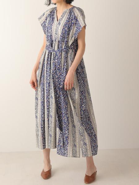 Bou Jeloudのパネル柄半袖ギャザーフレアワンピース/ウエストマーク/スキッパーブラウスワンピを使ったコーディネートを紹介します。|Rakuten Fashion(楽天ファッション/旧楽天ブランドアベニュー)1037147