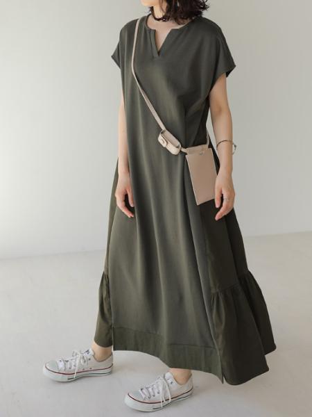 Bou Jeloudのシャンティアードロングワンピースを使ったコーディネートを紹介します。|Rakuten Fashion(楽天ファッション/旧楽天ブランドアベニュー)1037219