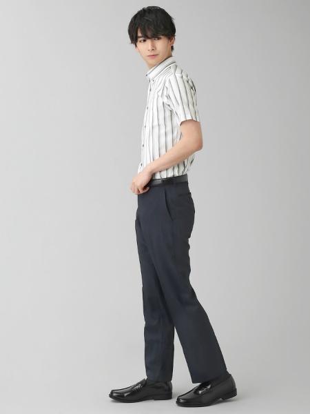 BRICK HOUSE by Tokyo Shirtsの(M)半袖シャツ_BM010200AB46B4Dを使ったコーディネートを紹介します。|Rakuten Fashion(楽天ファッション/旧楽天ブランドアベニュー)1038245
