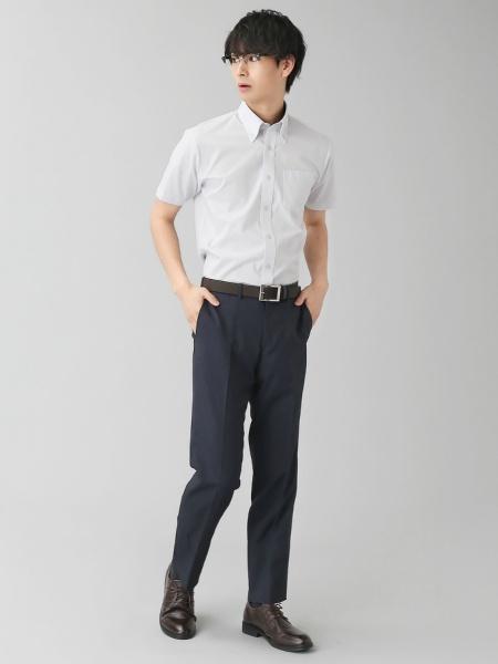 BRICK HOUSE by Tokyo Shirtsの(M)半袖シャツ_BM010210AB46B4Dを使ったコーディネートを紹介します。|Rakuten Fashion(楽天ファッション/旧楽天ブランドアベニュー)1038232