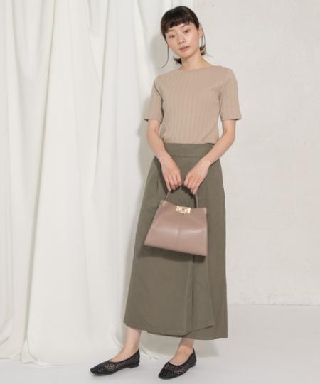 RODE SKOのARJA プチワンハンドルトートバッグを使ったコーディネートを紹介します。|Rakuten Fashion(楽天ファッション/旧楽天ブランドアベニュー)1038658