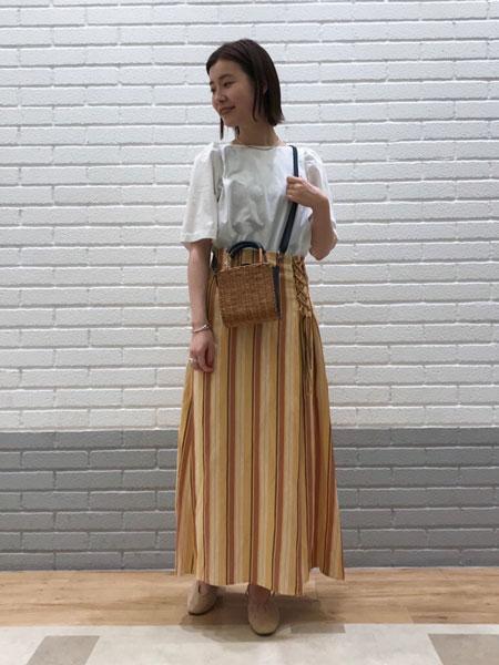 SLOBE IENAのSLOBE IENA バックストラップパンプス◆を使ったコーディネートを紹介します。 Rakuten Fashion(楽天ファッション/旧楽天ブランドアベニュー)1038758