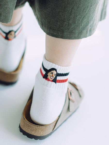gym masterのgym master/(U)ハッピー刺繍ショートソックスを使ったコーディネートを紹介します。|Rakuten Fashion(楽天ファッション/旧楽天ブランドアベニュー)1038935