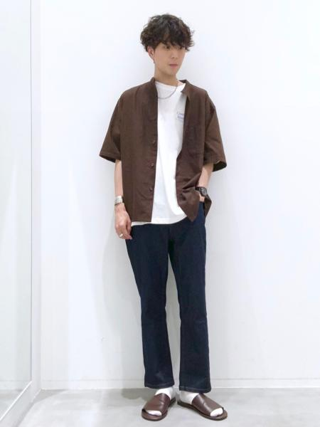 LAKOLEの(M)ウィークエンドTを使ったコーディネートを紹介します。|Rakuten Fashion(楽天ファッション/旧楽天ブランドアベニュー)1039573