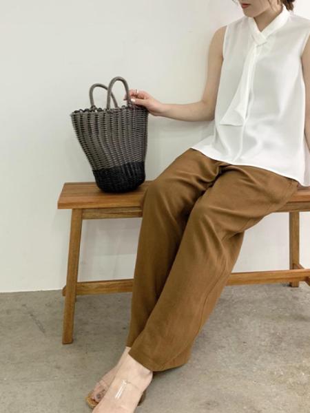 ROPE' PICNICのビニールチューブバスケットバッグを使ったコーディネートを紹介します。|Rakuten Fashion(楽天ファッション/旧楽天ブランドアベニュー)1040011