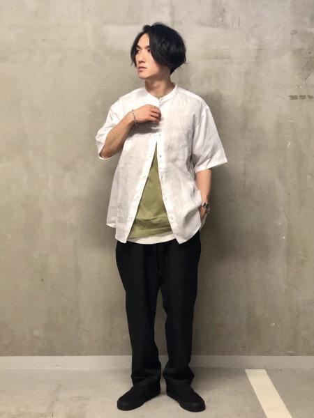 JOURNAL STANDARDのスーパーリネンBAND S/Sを使ったコーディネートを紹介します。 Rakuten Fashion(楽天ファッション/旧楽天ブランドアベニュー)1040131