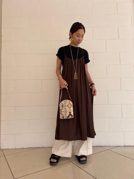 SHIPSのSHIPS any:2WAYキャミスカートを使ったコーディネートを紹介します。|Rakuten Fashion(楽天ファッション/旧楽天ブランドアベニュー)1040384