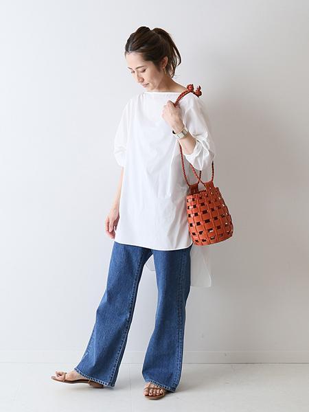 FRAMeWORKのコーディネートを紹介します。|Rakuten Fashion(楽天ファッション/旧楽天ブランドアベニュー)1040405