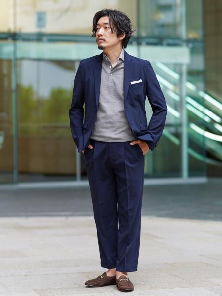 EDIFICEの【HIROSHI TSUBOUCHI / ヒロシツボウチ】別注 ヌバックビットスリッポンを使ったコーディネートを紹介します。 Rakuten Fashion(楽天ファッション/旧楽天ブランドアベニュー)1040541