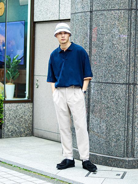 JOINT WORKSのハイパービッグカノコポロシャツを使ったコーディネートを紹介します。 Rakuten Fashion(楽天ファッション/旧楽天ブランドアベニュー)1040868