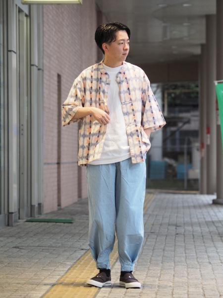 JOURNAL STANDARDの6oz Denim Over Pantsを使ったコーディネートを紹介します。|Rakuten Fashion(楽天ファッション/旧楽天ブランドアベニュー)1041093