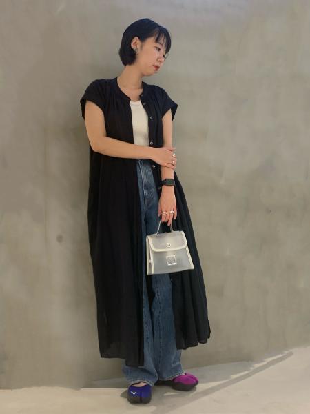 JOINT WORKSのフレンチスリーブボイルワンピース◆を使ったコーディネートを紹介します。 Rakuten Fashion(楽天ファッション/旧楽天ブランドアベニュー)1042085