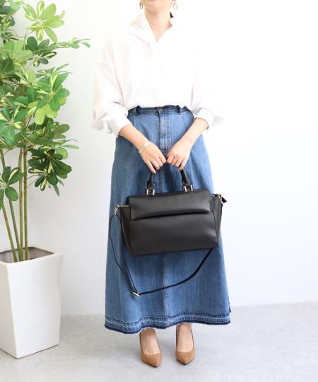 TrysilのT・S・L/フラップA4トートバッグを使ったコーディネートを紹介します。|Rakuten Fashion(楽天ファッション/旧楽天ブランドアベニュー)1042239