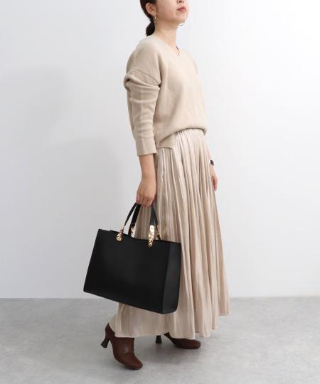 TrysilのT・S・L/A4ハンドル金具トートバッグを使ったコーディネートを紹介します。 Rakuten Fashion(楽天ファッション/旧楽天ブランドアベニュー)1042261
