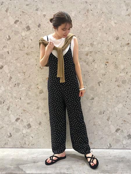 SLOBE IENAのドライコットンタンクトップ◆を使ったコーディネートを紹介します。|Rakuten Fashion(楽天ファッション/旧楽天ブランドアベニュー)1042453