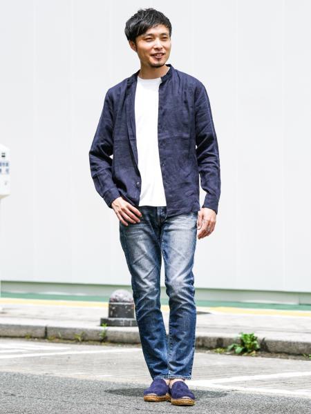 EDIFICEの【GAIMO / ガイモ】 別注 ヌバックスリッポンを使ったコーディネートを紹介します。|Rakuten Fashion(楽天ファッション/旧楽天ブランドアベニュー)1042872