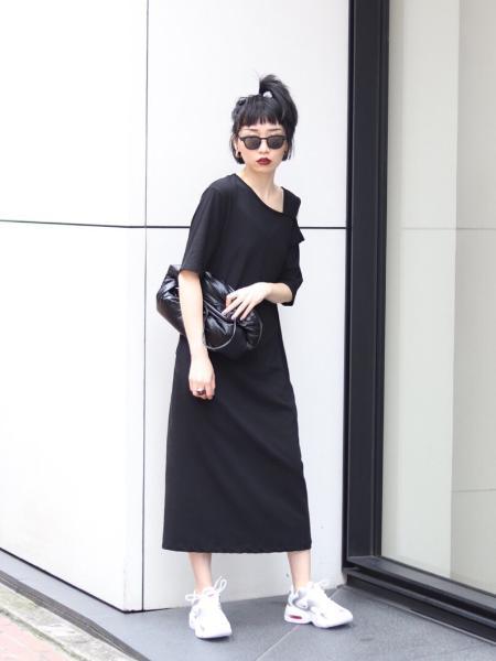 JOINT WORKSのカッティングカットワンピース◆を使ったコーディネートを紹介します。|Rakuten Fashion(楽天ファッション/旧楽天ブランドアベニュー)1043423