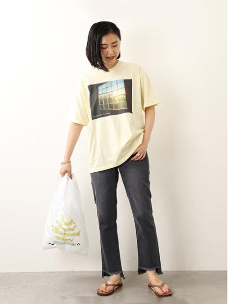 JOURNAL STANDARD relumeのGOATフォトプリントTEE◆を使ったコーディネートを紹介します。 Rakuten Fashion(楽天ファッション/旧楽天ブランドアベニュー)1043599