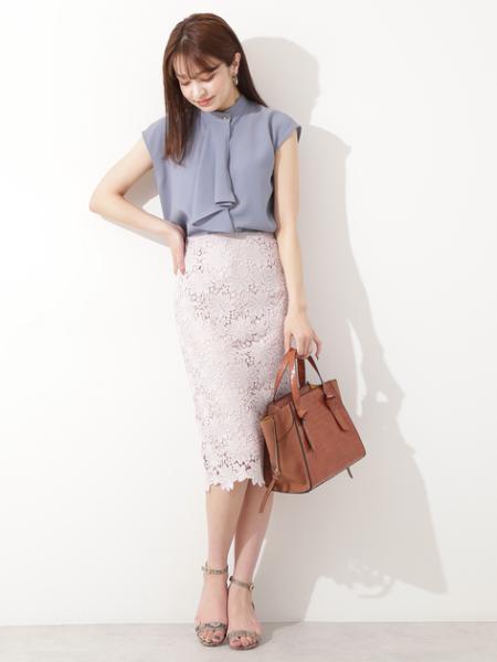 N. Natural Beauty Basic*のケミカルレースタイトスカートを使ったコーディネートを紹介します。|Rakuten Fashion(楽天ファッション/旧楽天ブランドアベニュー)1043803