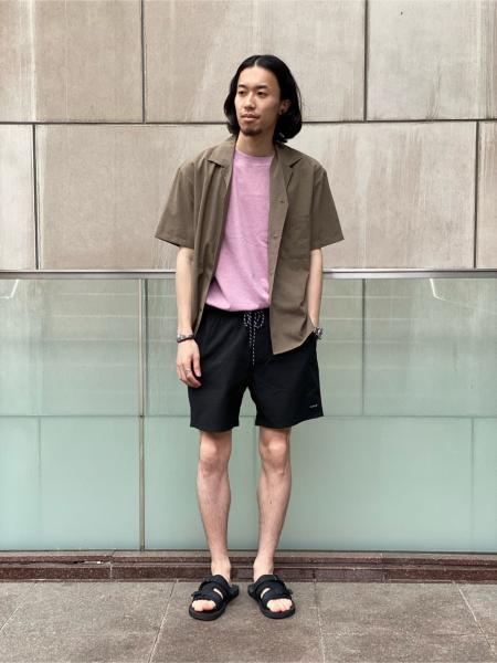 417 EDIFICEの※ドライタッチトロ オープンカラーシャツを使ったコーディネートを紹介します。 Rakuten Fashion(楽天ファッション/旧楽天ブランドアベニュー)1043871