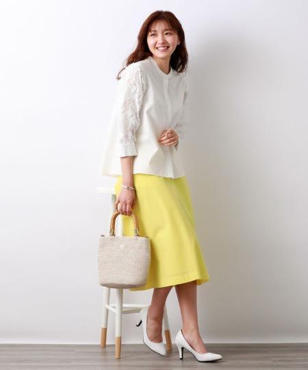 AMACAの*STORY掲載*LEOFINE フレアースカートを使ったコーディネートを紹介します。|Rakuten Fashion(楽天ファッション/旧楽天ブランドアベニュー)1043953