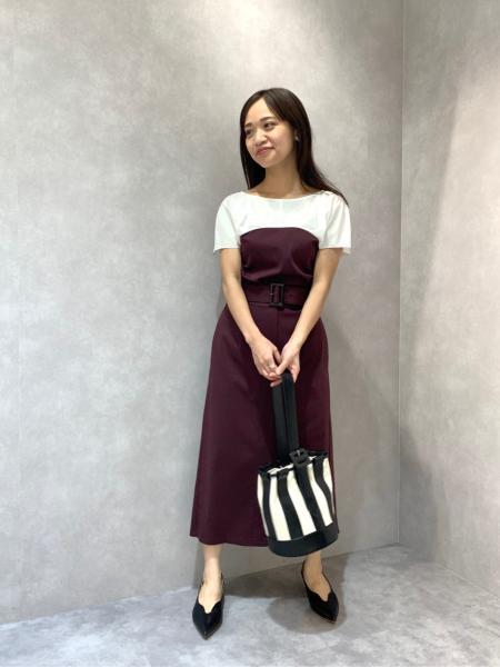 CAST:のベルテットタイトスカートを使ったコーディネートを紹介します。 Rakuten Fashion(楽天ファッション/旧楽天ブランドアベニュー)1043979
