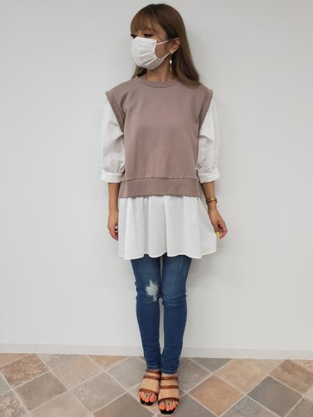 INGNIのH/Wサイドスラッシュスキニーパンツを使ったコーディネートを紹介します。|Rakuten Fashion(楽天ファッション/旧楽天ブランドアベニュー)1045427