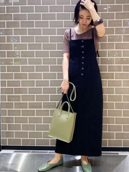 N. Natural Beauty Basic*のラウンドマチショルダーバッグを使ったコーディネートを紹介します。|Rakuten Fashion(楽天ファッション/旧楽天ブランドアベニュー)1046858