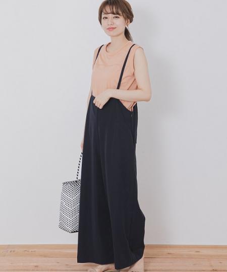 Sonny Labelの【WEB限定】サス付きサロペットを使ったコーディネートを紹介します。|Rakuten Fashion(楽天ファッション/旧楽天ブランドアベニュー)1047804