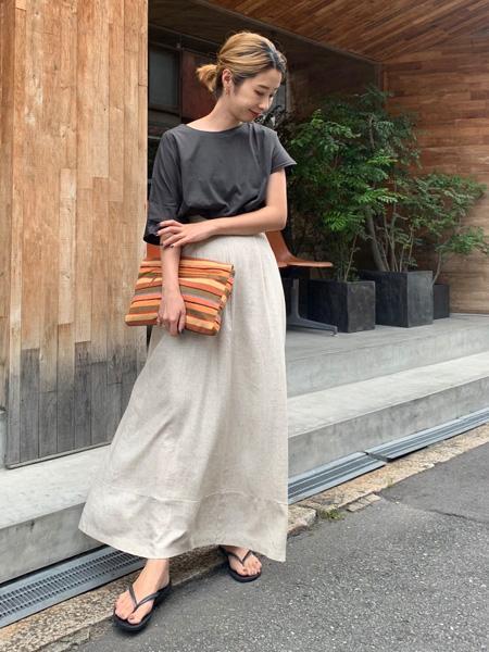 FROM FIRST MUSEEのアシメデザイントップスを使ったコーディネートを紹介します。|Rakuten Fashion(楽天ファッション/旧楽天ブランドアベニュー)1048454